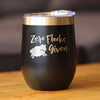 Zero Flocks Given Sheep - Wine Tumbler