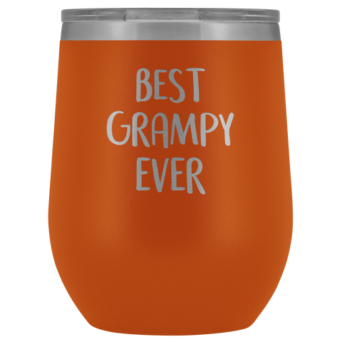 Image of Best Grampy Ever - Wine Tumbler
