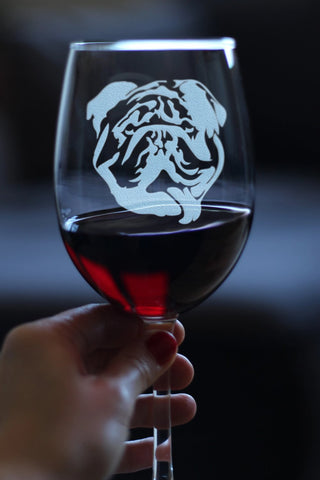 Image of Bulldog - 16.5 Ounce Stem Wine Glass