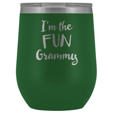 Image of I'm The Fun Grammy - Wine Tumbler