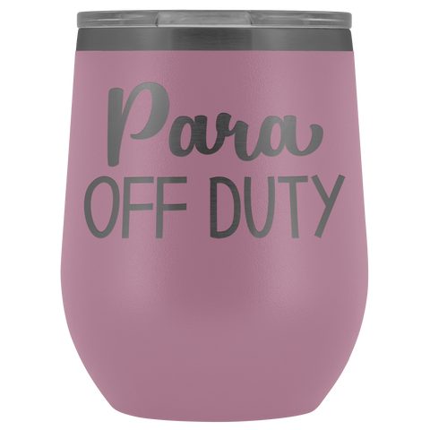 Image of Para Off Duty - Wine Tumbler