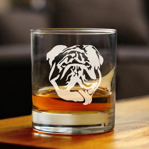 Bulldog - 10 Ounce Rocks Glass