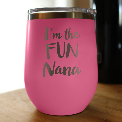 Image of I'm the Fun Nana - Wine Tumbler