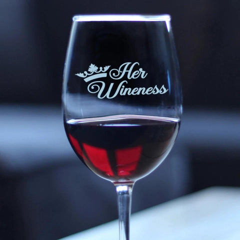 Her Wineness - 16.5 Ounce Stem Wine Glass