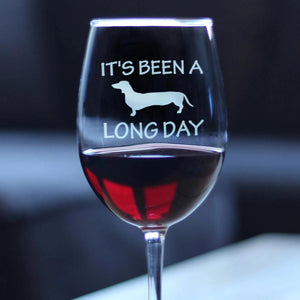 It's Been A Long Day - 16.5 Ounce Stem Wine Glass