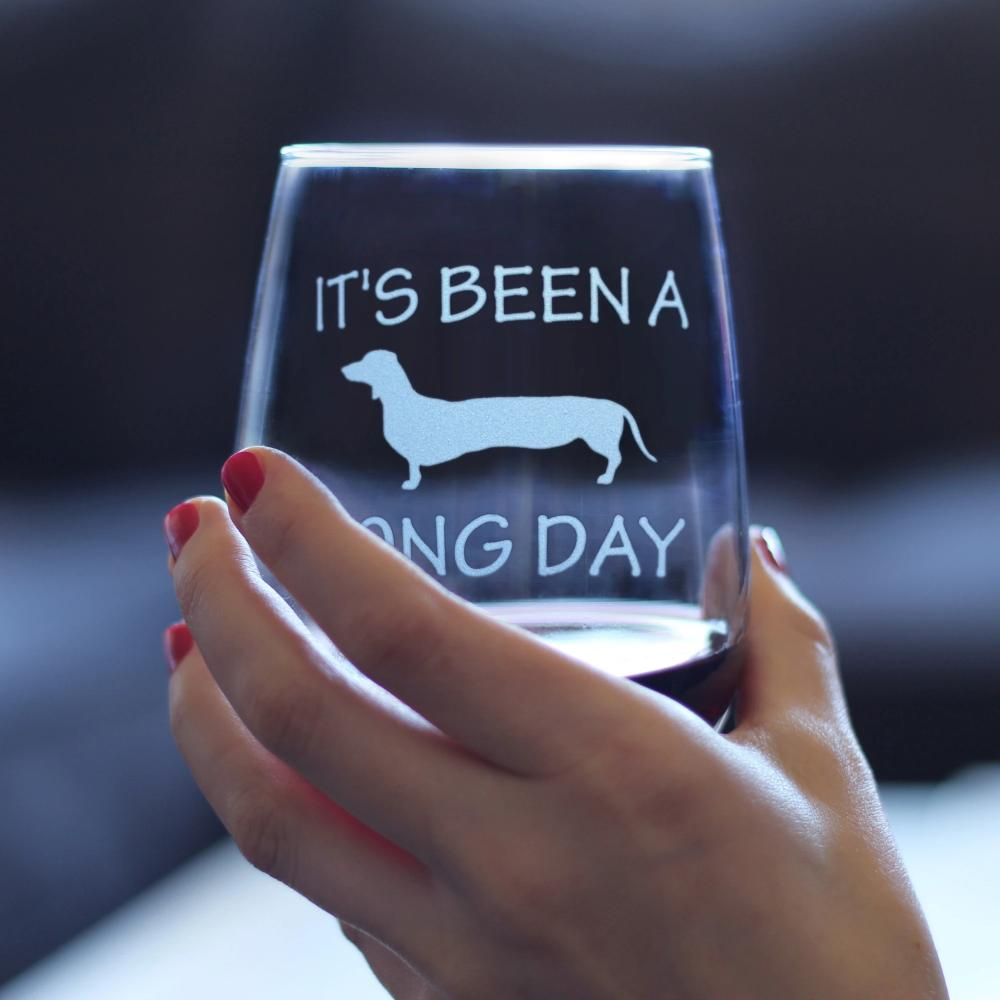 It's Been A Long Day - 17 Ounce Stemless Wine Glass