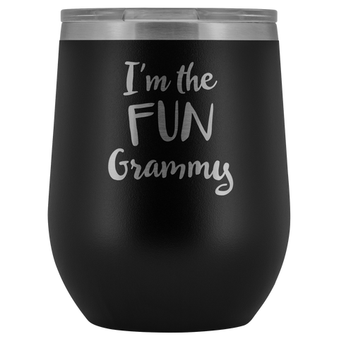 I'm The Fun Grammy - Wine Tumbler