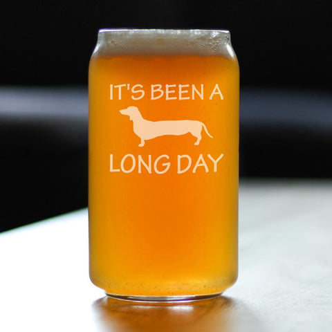 Image of It's Been A Long Day - 16 Ounce Beer Can Pint Glass