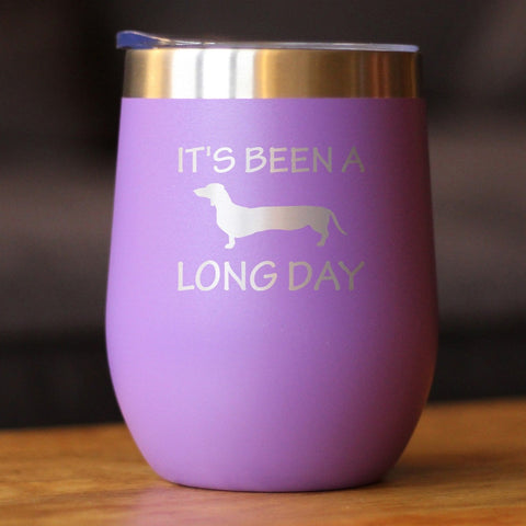 It's Been A Long Day - Wine Tumbler