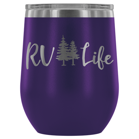 Image of RV Life - Wine Tumbler