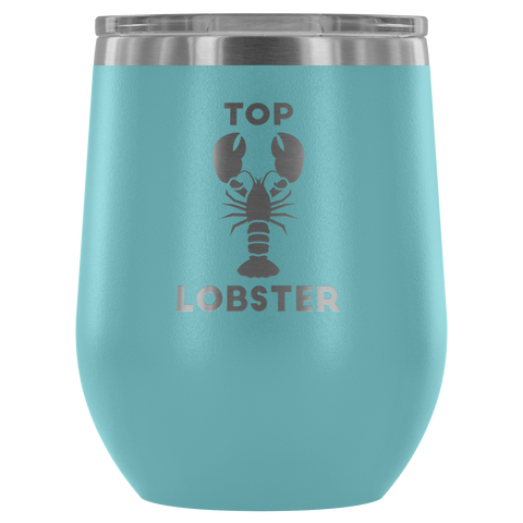 Image of Top Lobster - Wine Tumbler