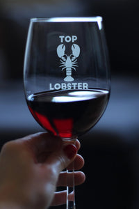 Top Lobster - 16.5 Ounce Stem Wine Glass