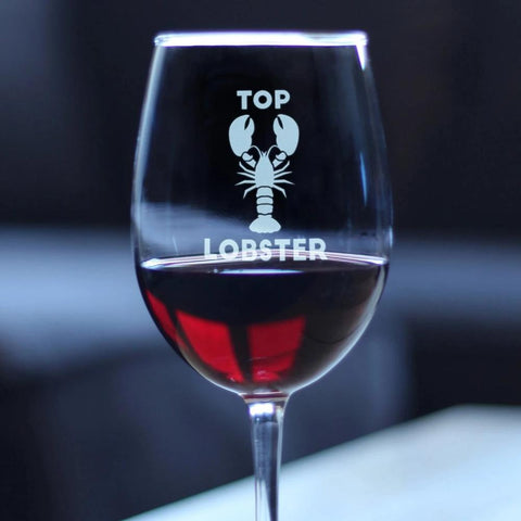 Image of Top Lobster - 16.5 Ounce Stem Wine Glass