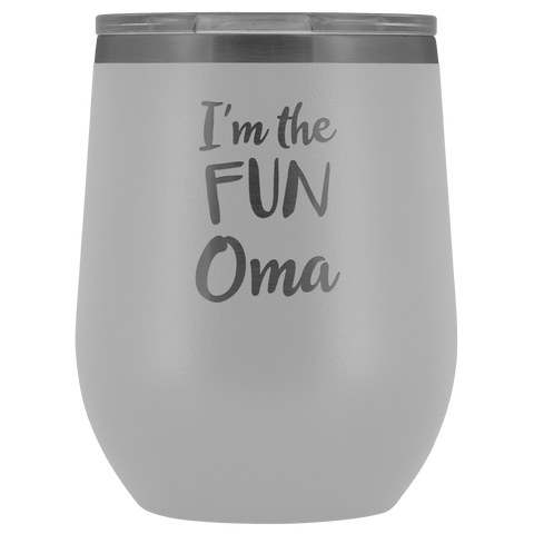 Image of I'm The Fun Oma - Wine Tumbler