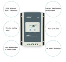 Load image into Gallery viewer, EPEVER 30a AN Series MPPT Solar Controller