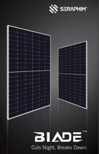Load image into Gallery viewer, Seraphim S2 Blade 330w Half Cell Solar Panels