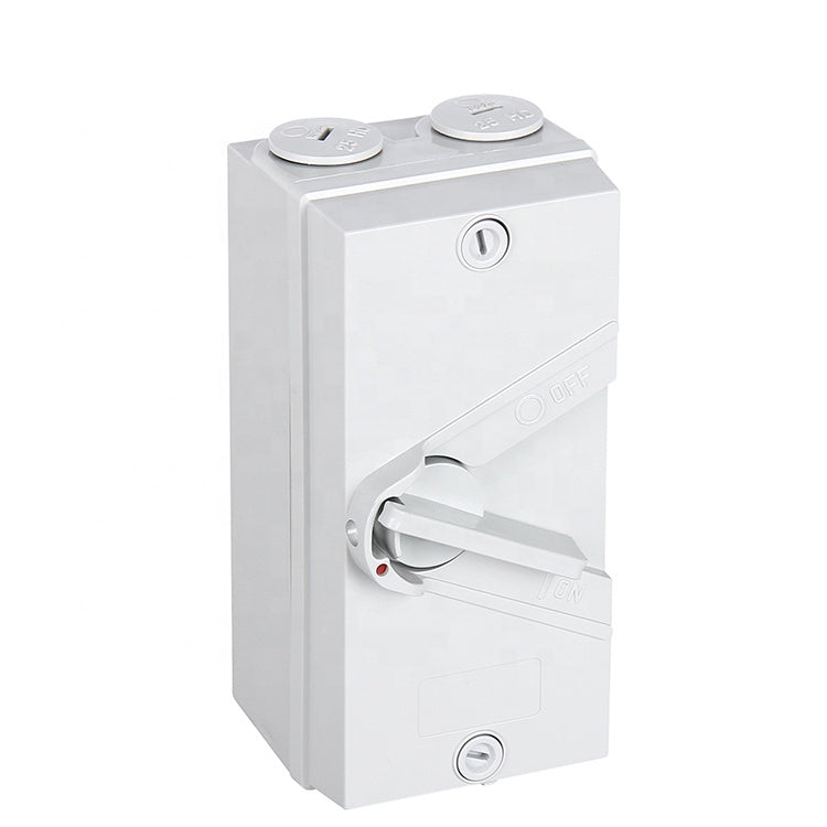 AS/NZS Compliant 20A Solar PV Lockable AC Isolator Switch
