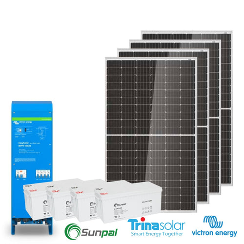 Victron Outhouse, Batch, Cabin Kit 1.32 Solar 9.6kW Battery