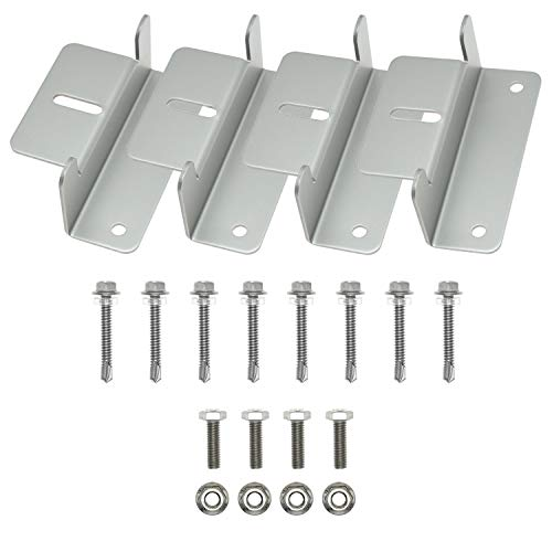 Solar Panel Z Brackets Complete Kit FREE SHIPPING