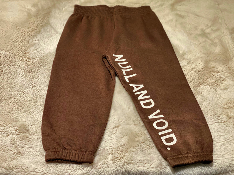 F/W 2020 - YOUTH JOGGERS (BROWN)