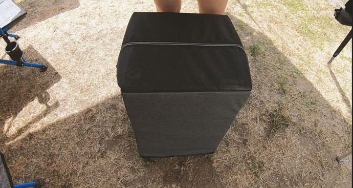 COLLAPSIBLE BIN BUDDY
