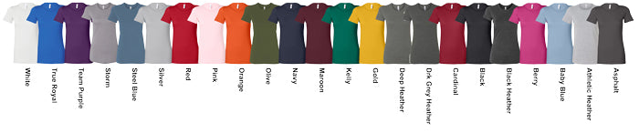 Ladies Favorite Tees Assorted Colors Available