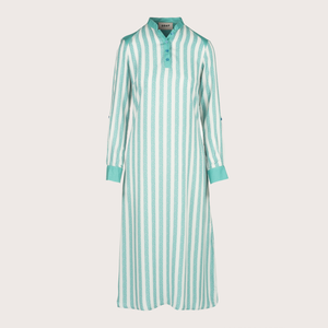 The Missdasha Dress - Spotted Stripes