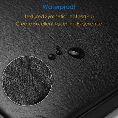 UPERFECT Waterproof Leather Laptop Sleeve Bag Notebook Case