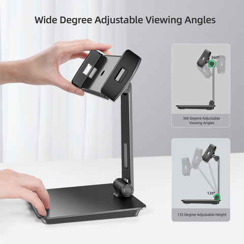 UPERFECT Portable Monitor Adjustable Stand for Portable Monitor Tablet
