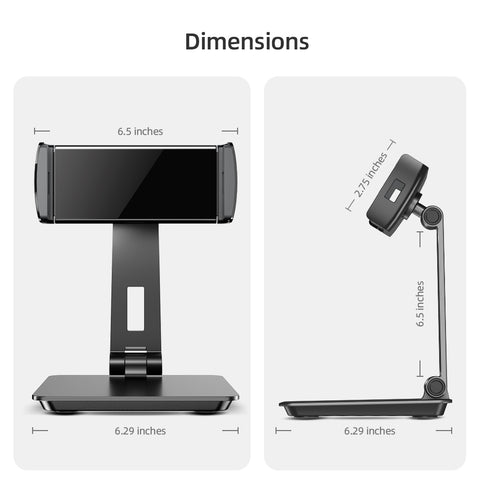 Heavy Duty Aluminum Stand for Portable Monitor Tablet
