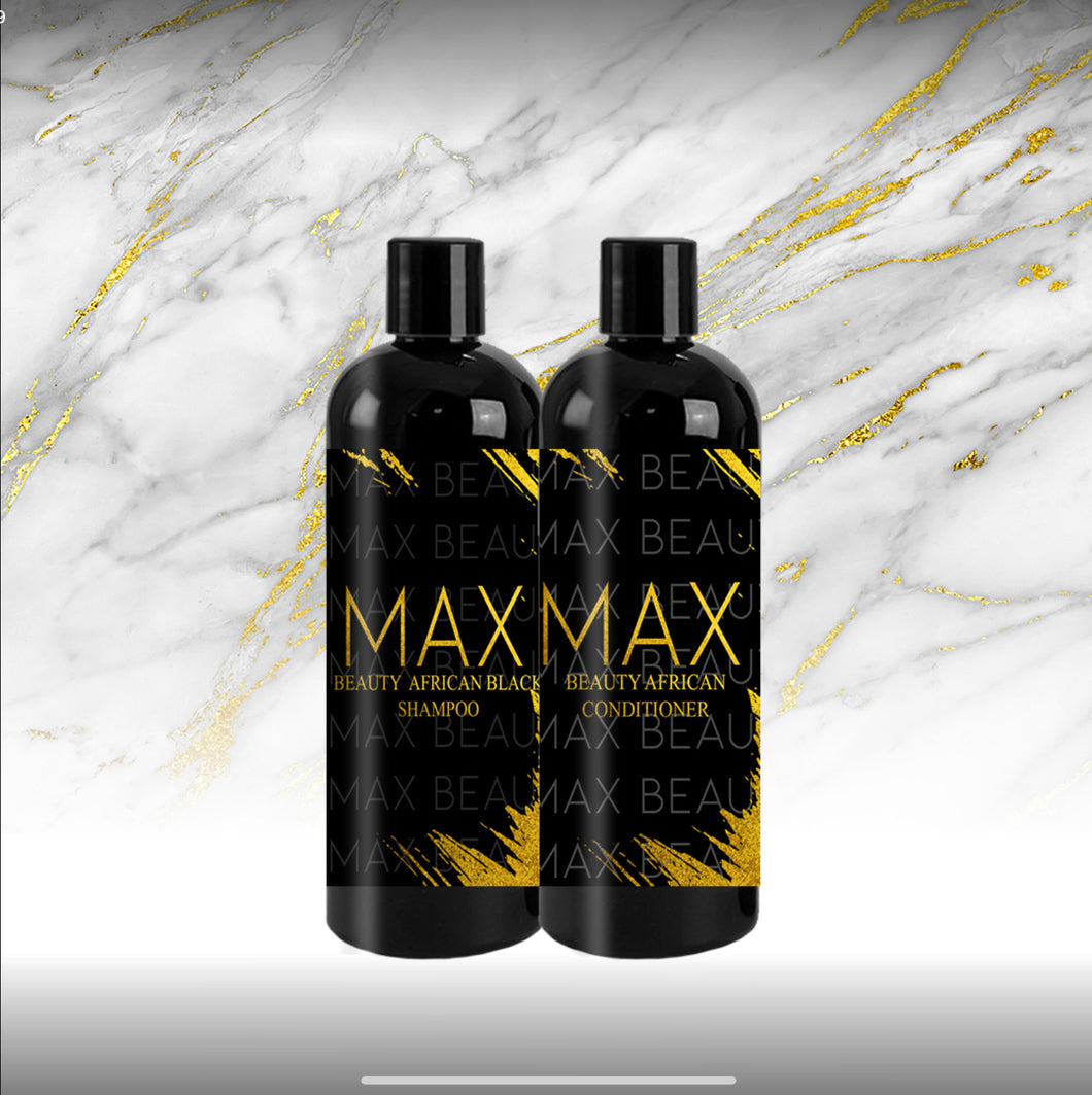 AFRICAN BLACK SHAMPOO & CONDITIONER