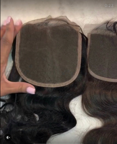 TRANSPARENT LACE CLOSURE 5*5