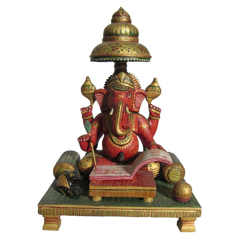 Lord Ganesha Writing Book