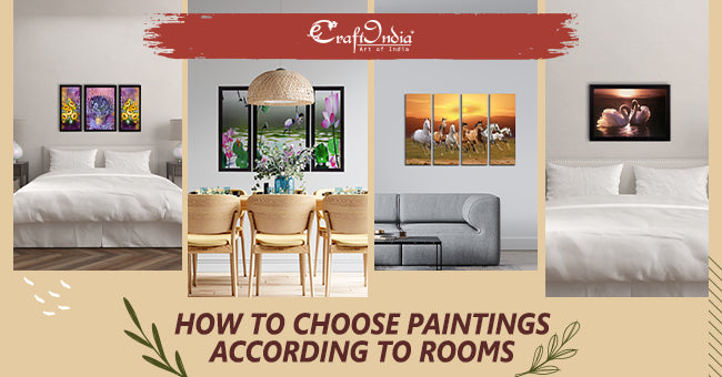 How to Choose Paintings According to Rooms