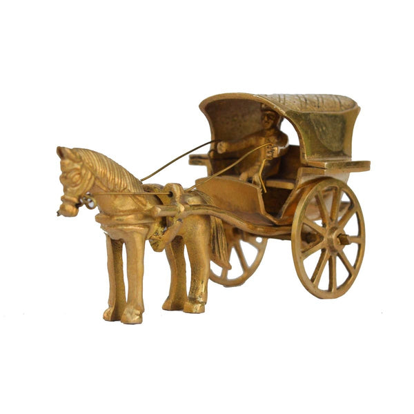 ecraftindia-metal-showpiece-of-chariot_1