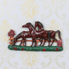 AAH506-eCraftIndia-Set-of-3-White-Horses-Colorful-Decorative-Wall-Hanging_1
