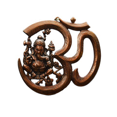 ecraftindia-metal-wall-hanging-of-lord-ganesha-with-om_1