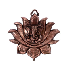 ecraftindia-metal-wall-hanging-of-lord-ganesha-on-lotus_1