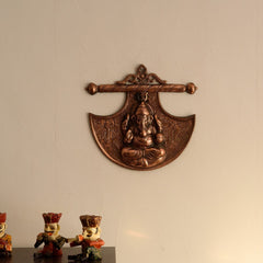 ecraftindia-lord-ganesha-on-phanki-metal-wall-hanging_1