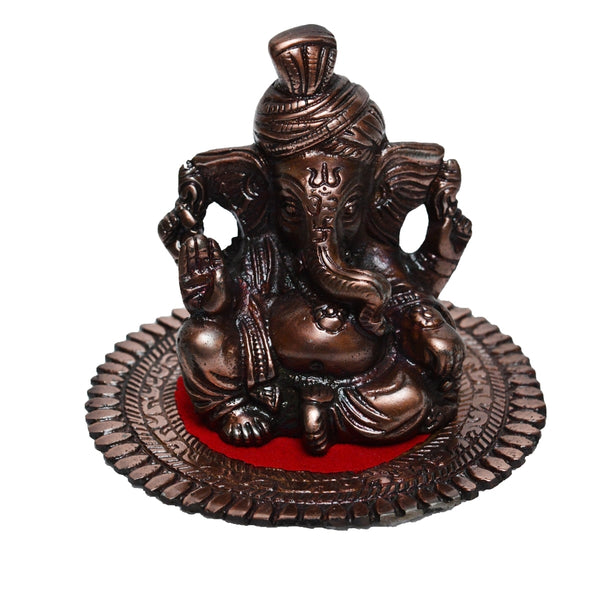 ecraftindia-metal-pagdi-lord-ganesha-on-round-base-brown_1