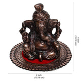 ecraftindia-metal-pagdi-lord-ganesha-on-round-base-brown_3