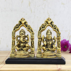 aglg503-ecraftindia-golden-metal-statue-of-goddess-laxmi-and-lord-ganesha_1