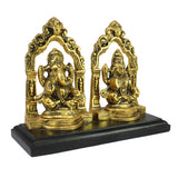 aglg503-ecraftindia-golden-metal-statue-of-goddess-laxmi-and-lord-ganesha_5