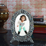 ecraftindia-antique-finish-white-metal-splendid-photo-frame_2