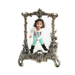 ecraftindia-antique-finish-white-metal-rectangular-photo-frame_1