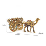 ecraftindia-gemstone-studded-pure-brass-camel-cart-handicraft_3