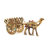 ecraftindia-gemstone-studded-pure-brass-camel-cart-handicraft_6