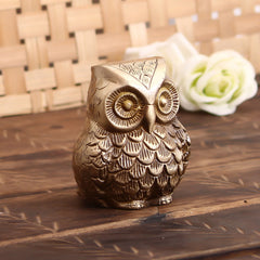 BAO501-eCraftIndia-Brass-Decorative-Owl-Showpiece_1