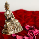 ecraftindia-antique-finish-brass-meditating-buddha_2