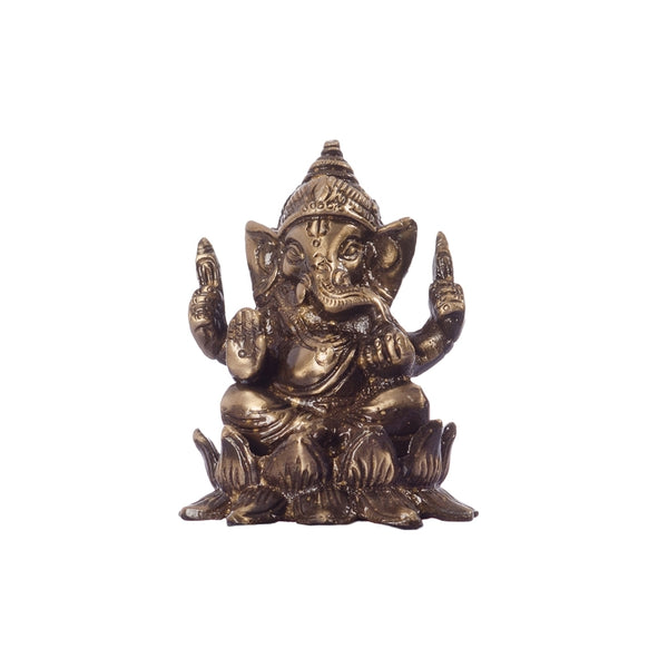ecraftindia-antique-finish-brass-lord-ganesha-on-lotus_1